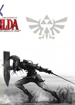 Zelda Schwert schwarz