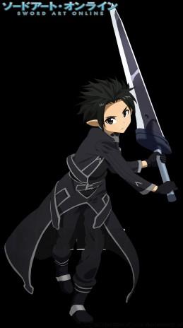 SAO - Black Iron Great Sword